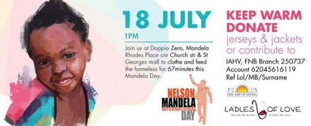 Ladles of Love Mandela Day