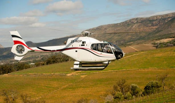 Cape Town Helicopters Winelands