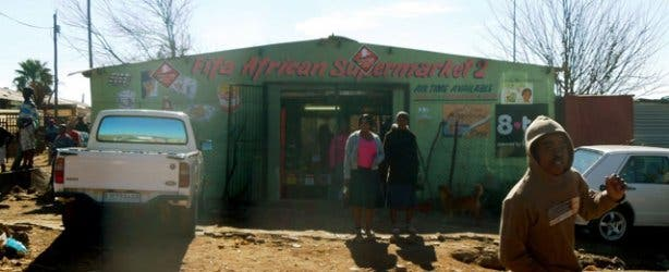 Supermarket in Soweto