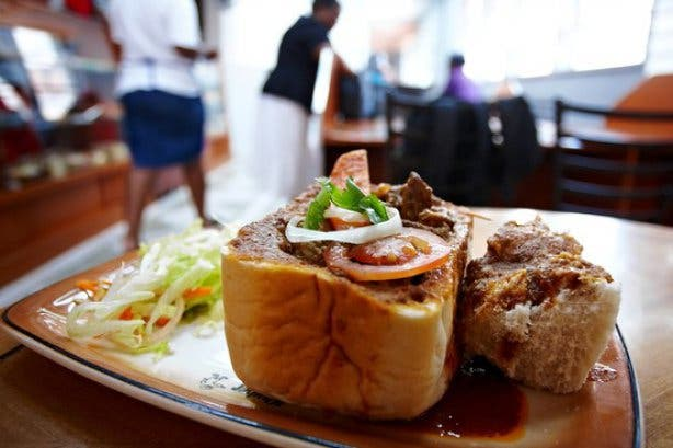 bunny chow south africa