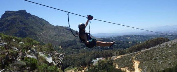 SA Forest Adventures Zip Line Tour Cape Town