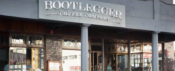 Bootlegger Sea Point Draussen
