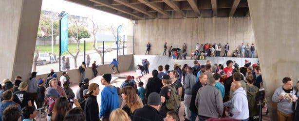 Mill Street Bridge Skate Park in Cape Town