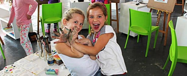 Kid's Painting Classes at Bright Day Cape Town