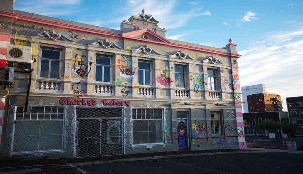 Charly's Bakery building