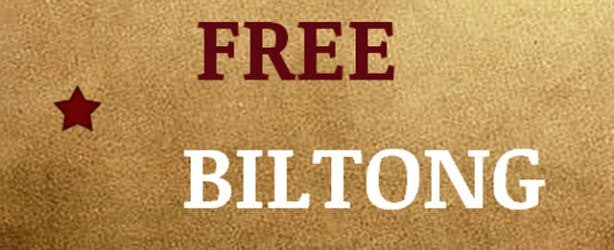 Free Biltong online shopping South Africa