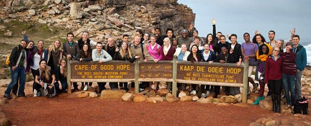 Cape Point excursion with VAC work abroad
