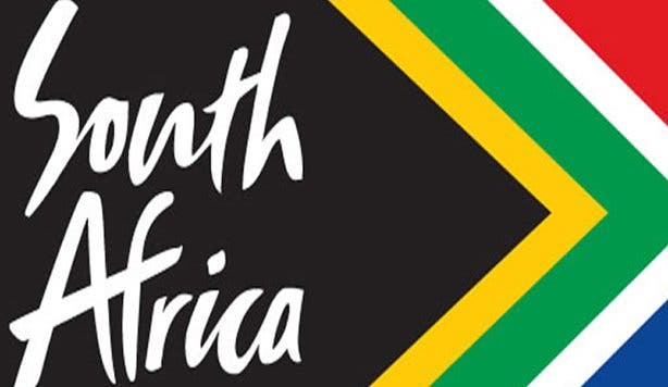 Flag of South Africa marketing logo
