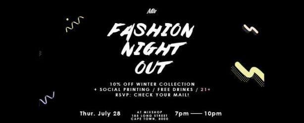 Mixshop Fashion Night Out