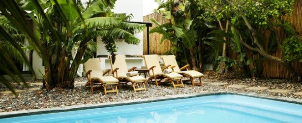 Antrim villa new pool
