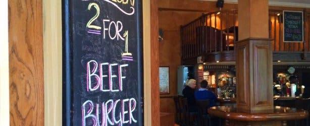 Odriscolls Irish Pub's Burger Special