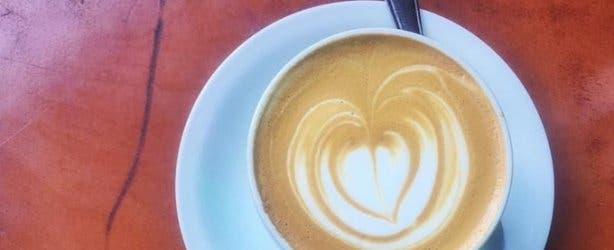 Truth coffee love heart