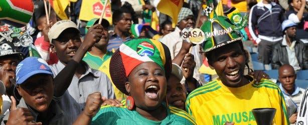 sa soccer fans woman