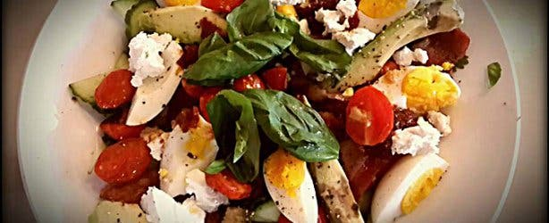 Tin Noakes Diet Salad from Rcaffe menu
