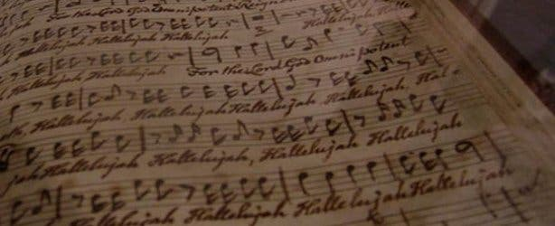 handel musical notes