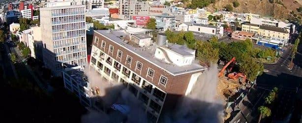 Tulip Hotel on Strand Street Implosion Videos