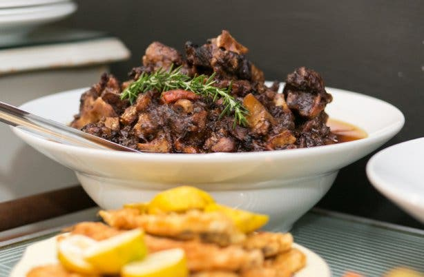Lamb stew from Festa Winelands restaurant