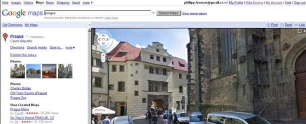 google street view prague