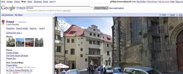 google street view prague