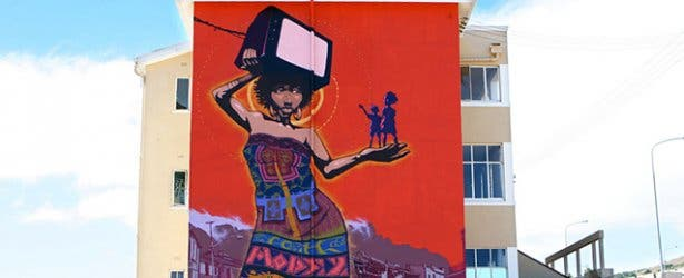 Faith 47 Graffiti