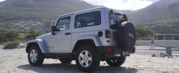 Jeep Wrangler Car Hire Cape Town