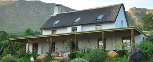 House without Eskom electricity in Noordhoek