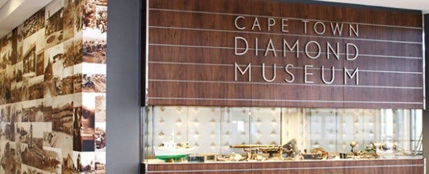 Exterior of Cape Town Diamond Museum near Shimansky at the Waterfront