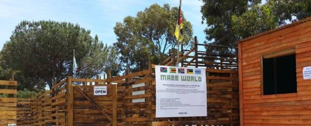 Maze World Kids Activity at Imhoff Farm