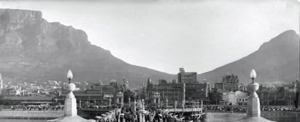 old cape town pier