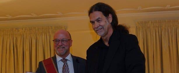 Derek Hanekom und Walter Lindner