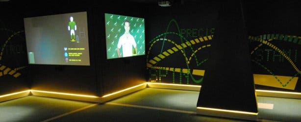 The Springbok Experience Rugby Museum Trials Room