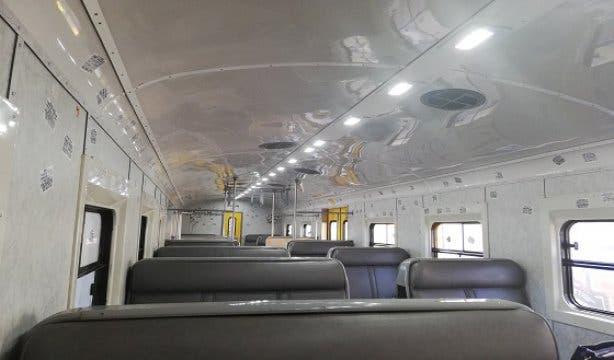Zug in Kapstadt