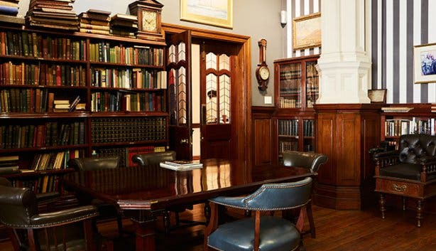 Cape Town Club Library