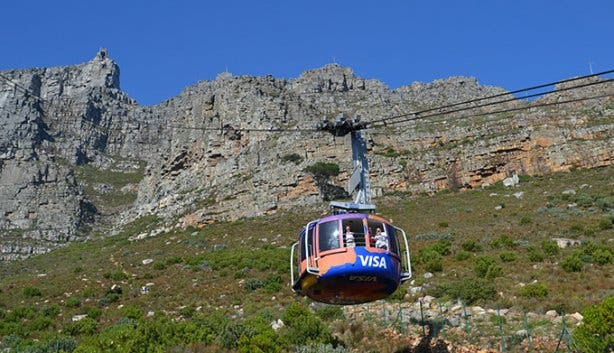 Cableway Wifi Lounge Cable Car Ride Up