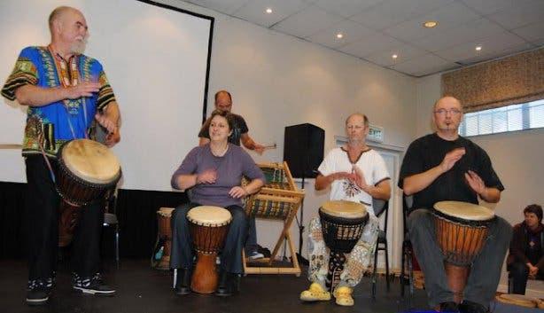 Celebrate Life Festival Drummers