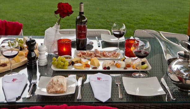 Peter Falke Wine Tasting and Cheese Platters Stellenbosch