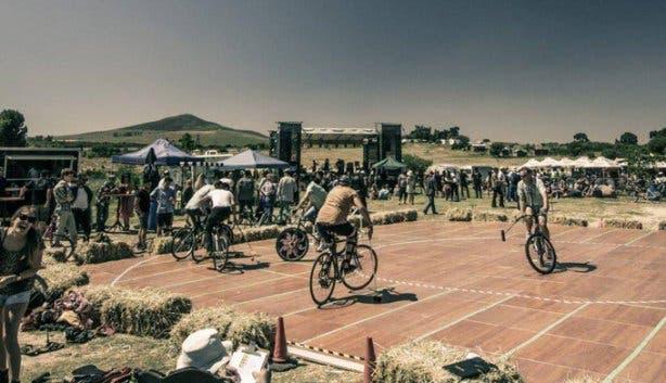 Dusty Rebels & The Bombshells Rockabilly Festival Bike Polo