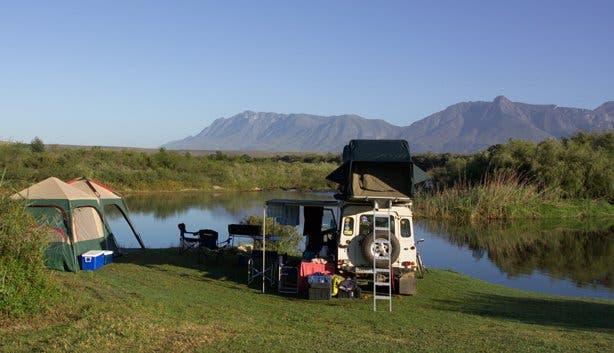 Camping at the Bontebok National Park