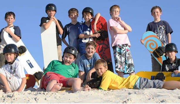 Sunscene outdoor adventures sandboarding