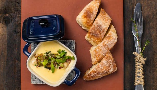 Homespun Restaurant Soup Table View
