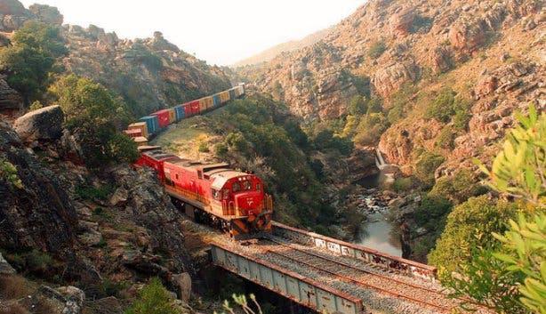 Ceres Steam Train cargo