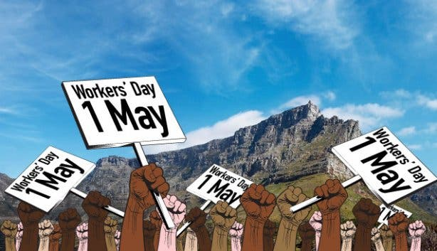 Workers' Day in Cape Town