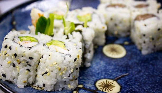 Obi Restaurant Sushi Roll