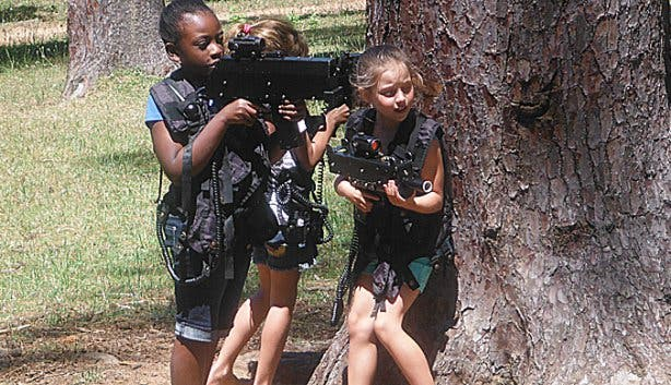 Battlefield Live SA Laser Tag Kids Parties Cape Town