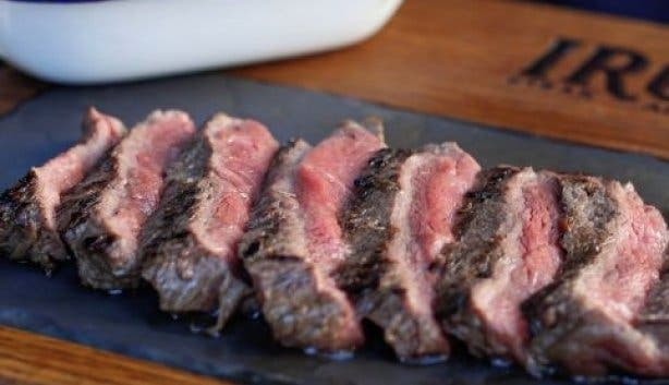 Steak and wagyu chips