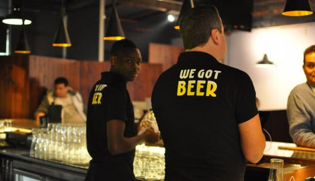 Beerhouse bartenders CBD