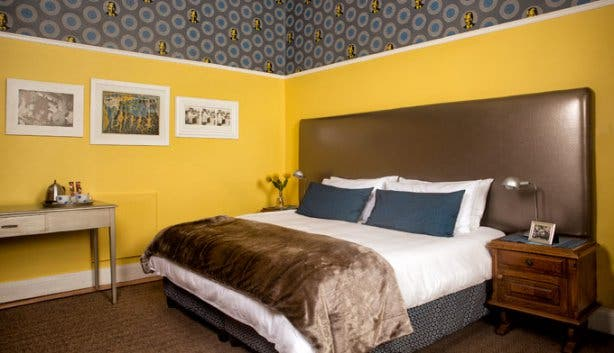 The Backpack Backpackers Cape Town double luxury ensuite