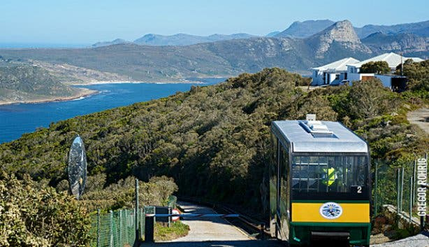 Cape Point Funicular View