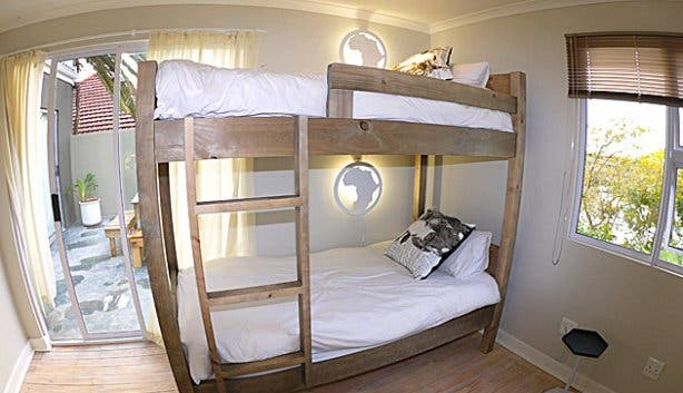 Dorm rooms in BIG budget backpackers