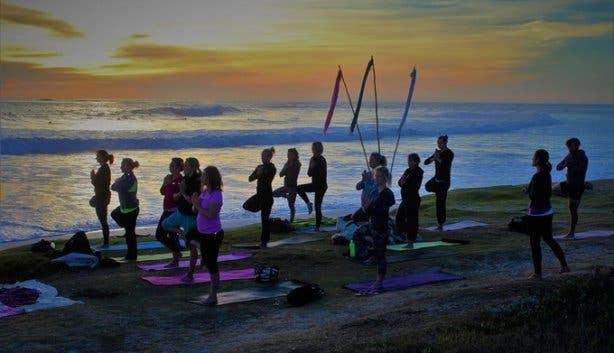 Full Moon Beach Yoga 2